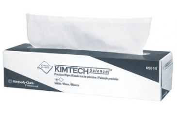 Kimberly Clark 15x16.75 Precision Wipeswhite 412-05514, Unit CS