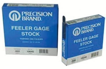 Precision Brand 19h15 .015inx1/2infeeler Gaug 605-19495, Unit EA