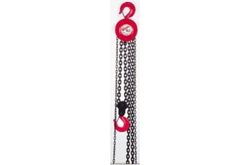 Milwaukee Electric Tools 1t 20ft Lift Hand Chain H 495-9672-20, Unit EA