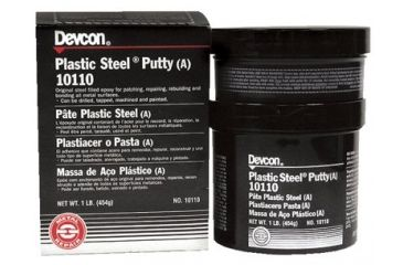 Devcon 1lb Plastic Steel Puttya 5 230-10110, Unit EA