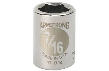 Armstrong Tools 3/8in Dr Socket 8mm Opg6-pt S 069-38-008, Unit PK