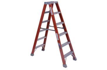Louisville Ladder 10ft Fiberglass Twin Stepladde 443-FM1510, Unit EA