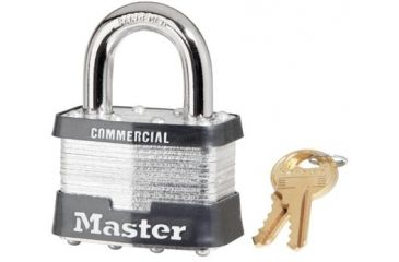 Master Lock 4 Pin Tumbler Safety Padlock K 470-5DCOM, Unit PK