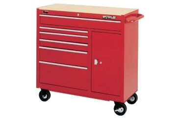 Waterloo 41in 12-drawer Bb Cart Red W/l 797-TRX4112, Unit EA
