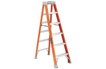 Louisville Ladder 8ft Fibrglass Advnt Stepladder 443-FS1508, Unit EA