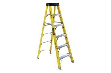 Louisville Ladder 12ft Rhino 375 Fiberglassstep 443-FS1112HD, Unit EA