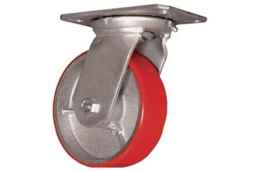 EZ Roll 6in Whl. Dia. Swivel Caster W/ 5011122826, Unit EA