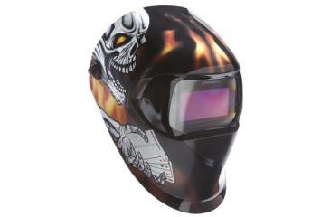 3M Black Helmet 100 W/100vsh 8-1 5011163629, Unit EA