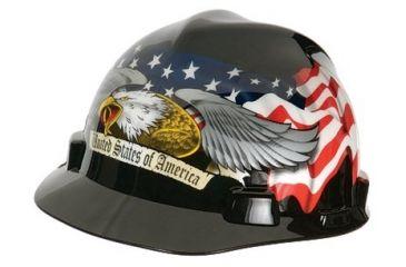 MSA Cap V-gd Eagle Blackratche 454-10079479, Unit EA