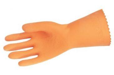 Memphis Glove Lg Orange Neoprene/latex Bl 127-5430L, Unit PK