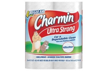 Procter & Gamble (pk4) Charmin Regular1 Ply 608-23992, Unit CS