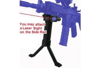 Osprey Tactical Gun Grip w/Bipod Steel Insert and Rail