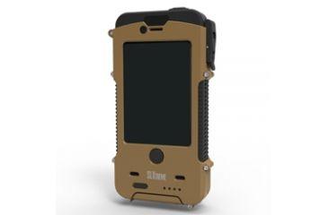 Otis Technology SnowLizard SLXtreme iPhone 4-4S Case, Coyote Tan, Small CD-SLSLXAPL04-CO