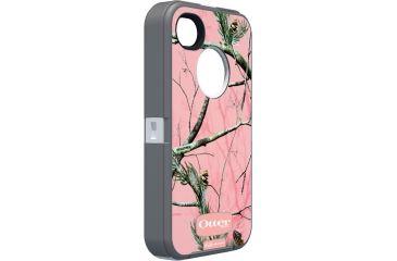 Otter Box Defender 4S iPhone Case, Pink-White Camo OB01134