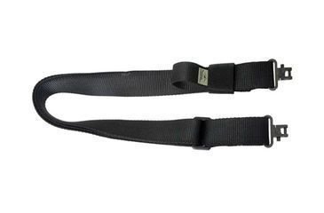 Outdoor Connection 1 1/4  Black Super Sling w/Swivels TP13DS