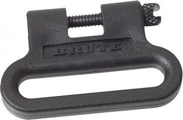 """Outdoor Connection 1 1/4"""" One Piece Black Sling Swivels BRT79201"""