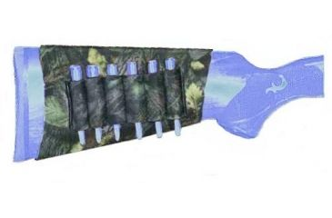 Outdoor Connection 6 Round Camo Buttstock Cartridge Carrier 28023