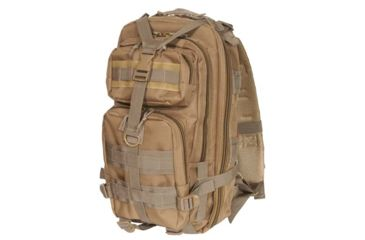 Outdoor Connection Max-Ops Backpack MOLLE, Brown MLTBPCB-62118