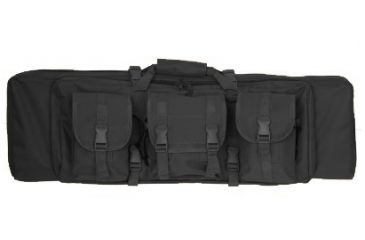 Outdoor Connection MOLLE Tactical Rifle Case, Black, 36in.X11in. CSTAC61-28321