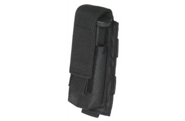 Outdoor Connection Single Mag Pouch, Pistol, MOLLE, Black MLSPSTBK-62101