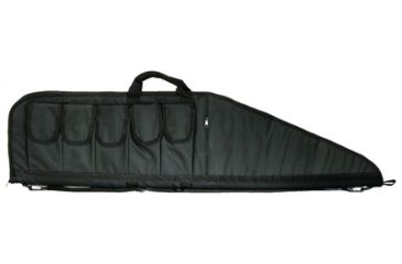 Outdoor Connection Tactical Gun Case With Accessory and Magazine Pouches Black 42 Inches