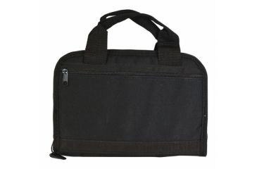Outdoor Connection Tactical Pistol Case With Inter Pocket Black Heavy Polyester 11 Inch CSPTAC43-28100