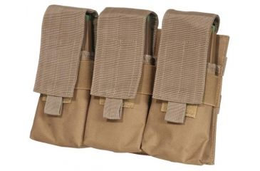 Outdoor Connection Triple Mag Pouch, AR, MOLLE, Brown MLTARCB-62110