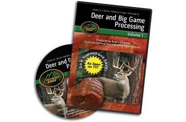 Outdoor Edge Cutlery DVD-Deer & Big Game Processing: Volume 1, One size DP-101