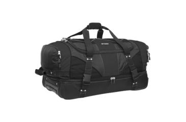Outdoor Products Laguardia Rolling Bag for Travel Essential, Black 2579OP008OP