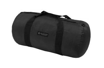 Outdoor Products Medium Deluxe Duffle Bag, 11.69 gal, 12in. x 24in., Fabric, Black 203008OP