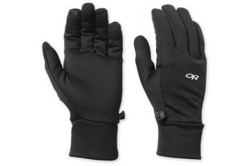 Outdoor Research PL Base Gloves Small Black 816992