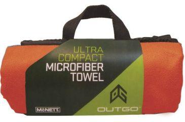 Outgo Microfiber Towel, 30 x 50 in., Terra Cotta UG68159