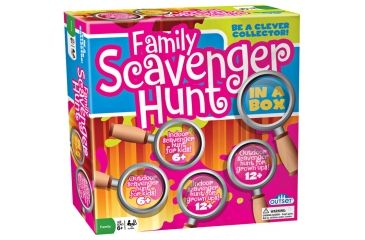 Outset Media Family Scavenger Hunt 11173