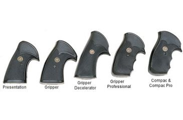 Pachmayr Compact Professional Gun Grips W Open Back Strap