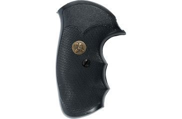 Pachmayr Gripper Grips w/Finger Grooves for S&W, J Frame Square Butt SJ-GS 03250