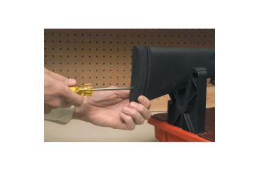 Pachmayr Pre-Fit Decelerator 1in Recoil Pad, Basket Black - Winchester 70 Featherweight Wood
