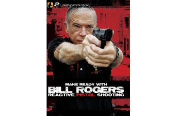 Panteao Make Ready with Bill Rogers - Reactive Pistol Shooting DVD PMR009