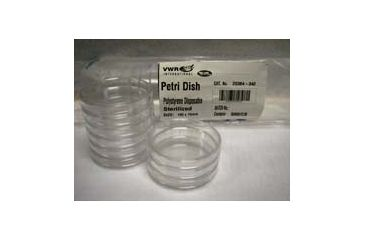 Parter Medical Petri Dishes, Sterile 3305 Eo Gas Sterilized Fully Stackable