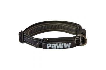 Paww Secret Agent Collar Md Black P650