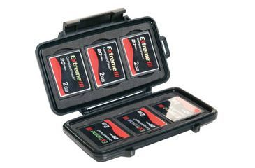 Pelican 0945 Memory Card Micro Cases for 6 Compact Flash Cards