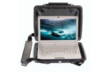 Pelican i1075 HardBack Ipad Case - Black 1070-005-110