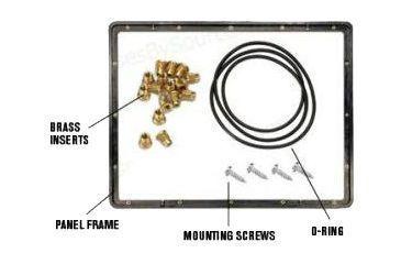 Pelican 1200/1300 Panel Mount Frame Kit 1200-300-110
