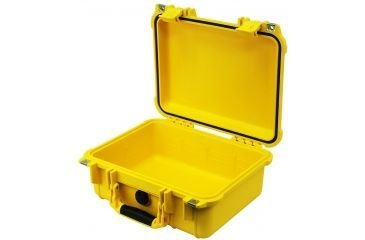 Pelican 1400 Protector Small Waterproof Case Yellow Color