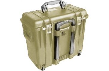 Pelican 1440 Top Loader Medium 20x12x18in Protector Case, Desert Tan w/Photo Dividers