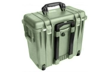Pelican 1440 Top Loader Medium 20x12x18in Protector Case Od Green Wphoto Dividers