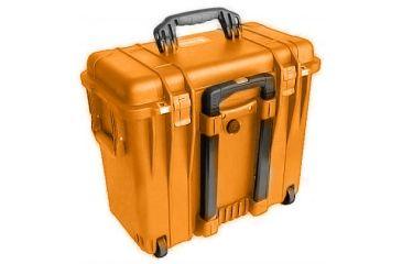 Pelican 1440 Top Loader Medium 20x12x18in Protector Case Orange Woffice Dividers
