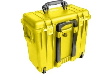 Pelican 1440 Top Loader Medium 20x12x18in Protector Case, Yellow, No Foam