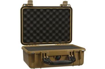 Pelican 1450 Desert Tan Protector Case w/ Foam
