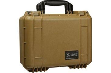 Pelican 1450 Protector Waterproof Crushproof Medium Case Desert Tan Wfoam