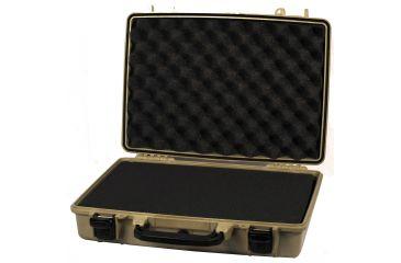 Pelican 1470 Laptop Case Tan with Foam 1470-000-190